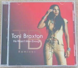 Toni Braxton - He wasn't man enough. Remixes / CD, Maxi-Single, 7 tracks, 2000