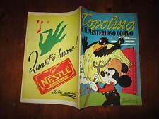 WALT DISNEY ALBO D'ORO N°62 TOPOLINO E IL MISTERIOSO CORVO 1*RISTAMPA 1953