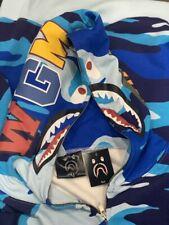 Bape Hoodie Blue Camoflouge 'SALE'