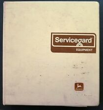 John Deere Service Guard Equipment - Tools Dealer Sales Catalog Binder - 1977
