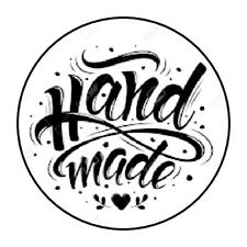 """HANDMADE!!! STICKER LABEL ENVELOPE SEAL PARTY 1.2"""" OR 1.5"""" ROUND"""