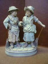 Victorian Date-Lined Ceramic Figurines