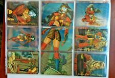1996 - Shi Visions of the Golden Empire - All Chromium Trading Card Set