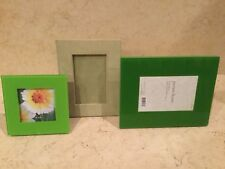 Green Picture Frames - Lot of 3