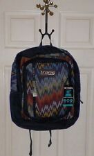 TRANS BY JANSPORT GIRLS OR BOYS MULTI COLORED BACKPACK ZIG ZAG PRINT