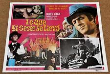 GONE WITH THE WEST Orig Movie Poster JAMES CAAN SAMMY DAVIS JR STEFANIE POWERS