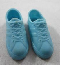 Vintage Barbie Doll Blue Tennis Shoes