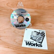 PC CD-ROM Software Microsoft Works Designed for Windows 95