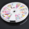 1200Pcs Nail Patch Cabochon Decoden Scrapbooking Embellishments Resin Bow