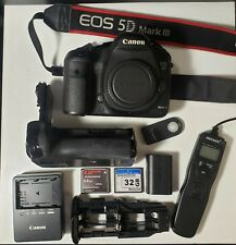 Canon EOS 5D Mark III 22.3MP Digital SLR Camera Body - W/ Accessories!!