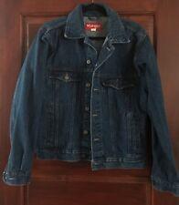 Vintage Wrangler Blue Denim Jean Jacket Trucker Mens M