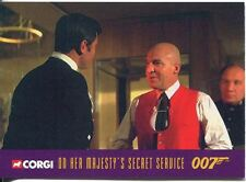 James Bond Corgi Cars Exclusive Trading Card #23 On Her Majestys Secret Service