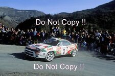 Didier Auriol Toyota Celica Turbo 4WD Winner Monte Carlo Rally 1993 Photograph 1