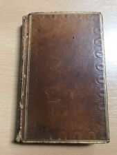 1814 POEMS OF ROBERT BLOOMFIELD Vol II Rural Tales & Wild Flowers LEATHER