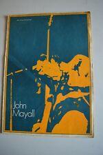 More details for john mayall 1970 uk tour concert programme john mayall/duster bennet