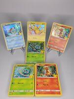25th Anniversary Pokemon Card ALL HOLO & Non-HOLOS - MINT Pikachu McDonald's