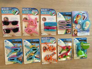 1 set of 2 NEW BOCA Clips pineapple sunglasses flip flops Margharita Fish Parrot