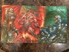 Wizards of The Coast Signed Greg Staples Dissension Promo Poster Art #2 Playmat