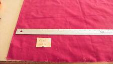 Red Corduroy Velvet Upholstery Fabric Remnant F1147