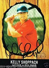 KELLY SHOPPACH SIGNED 2003 BOWMAN HERITAGE FIRST CARD ~AUTHENTIC/ JSA (SPENCE)
