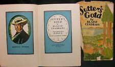 Sutter's Gold by Cendrars Blaise