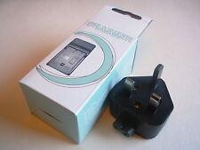 Cargador De Batería Para Panasonic Bcf10 Dmc-fs6 Fs62 C45