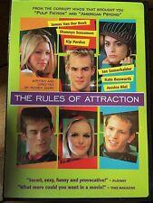 James Van Der Beek Jessica Biel RULES OF ATTRACTION Bret Easton Ellis | US DVD