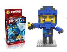 LOZ Ninja Master Jay  Diamond black Mini blocks 220 pcs