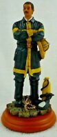Fireman Collectible Statue Figurine New NIB Firefighter Free Shipping