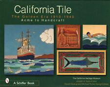 2 Book Set CALIFORNIA TILE: THE GOLDEN ERA  1910 - 1940;  ACME TO WOOLENIUS