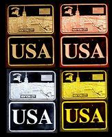 ★ COLLECTION COMPLETE DE 4 MEDAILLES ● USA ● NEW YORK  ★★