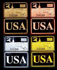 ★★ COLLECTION COMPLETE DE 4 MEDAILLES ● USA ● NEW YORK  ★★★