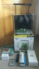 Aqua One Aqua Aspire 22 Glass Aquarium 22 Litre Nano Fish Tank Cube With Remote