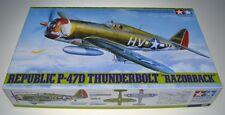 TAMIYA 61086 - 1/48 WWII US REPUBLIC P-47D THUNDERBOLT RAZORBACK - NEU