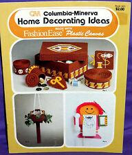 Columbia Minerva Home Decorating Ideas Plastic Canvas Chart Organizer Box Frame