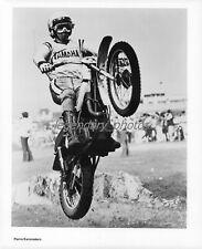 1970s Pierre Karsmakers AMA Motocrosser Original News Service Photo