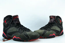 Air Jordan VII Raptor Black Purple True Red 7's Size 9.5 1992' 130014 060
