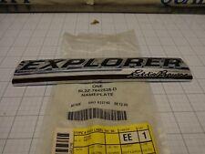 Ford OEM NOS 6L2Z-7842528-D Emblem Name Plate EXPLORER EDDIE BAUER Lite Scratch