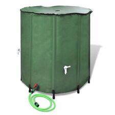 vidaXL Regentonne Regenwassertank Wassertank Regenwasserfass Zisterne Tank 750L
