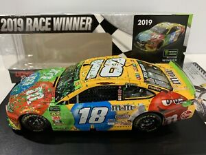 2019   #18 Kyle Busch M&M's Homestead Raced Win Championship Victory