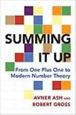 SUMMING IT UP - ASH, AVNER/ GROSS, ROBERT - NEW PAPERBACK