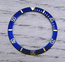 Genuine Rolex Submariner 16803 16613 16808 16818 Blue Silver Watch Bezel Insert