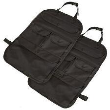 2x Car auto back seat organizer bag multi-pocket storage holder protector pocket