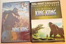 King Kong (DVD, 2006, Widescreen) With BONUS Wal-Mart Exclusive Collectible Book