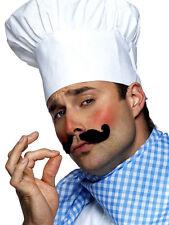 Unisex Ladies Men's White Master Chef's Cooking Hat British Bake Off Fancy Dress