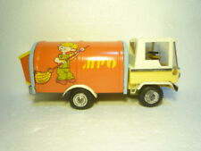 SPECIAL VINTAGE  TIN  TRUCK  DENNIS  THE  MENACE  FRICTION  EXTREMELY   RARE