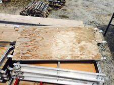 "A1 Scaffold Aluminum Plywood 19"" x 42"" Walkboard Plank Scaffold Board"