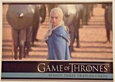 GAME OF THRONES Season 3 (2014)--Promo Card #P1 / Daenerys Targaryn*^