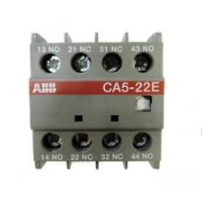 ABB CA5-22E CONTATTI AUSILIARI  2NA+2NC PER CONTATTORI EN 268 7