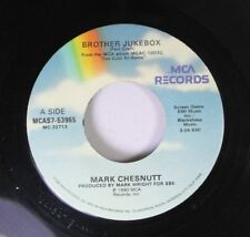 Country 45 Mark Chestnut - Brother Jukebox / Hey You There In The Mirror On Mca